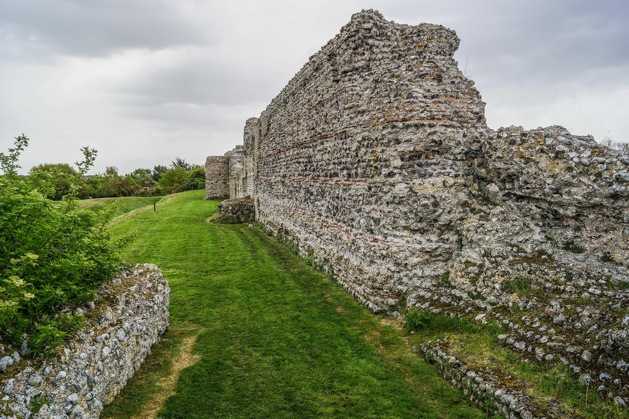 Rutupiae Grundmauern