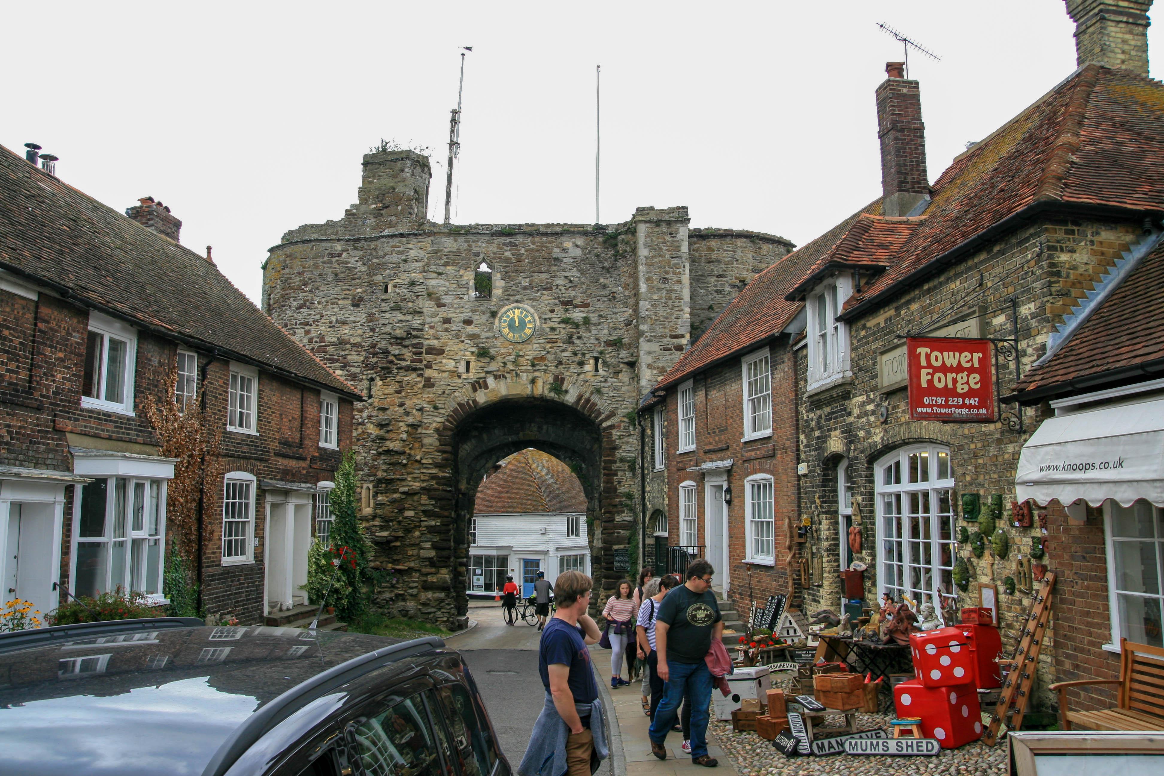 Land Gate altes Stadttor