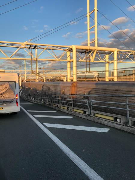 Zug Eurotunnel