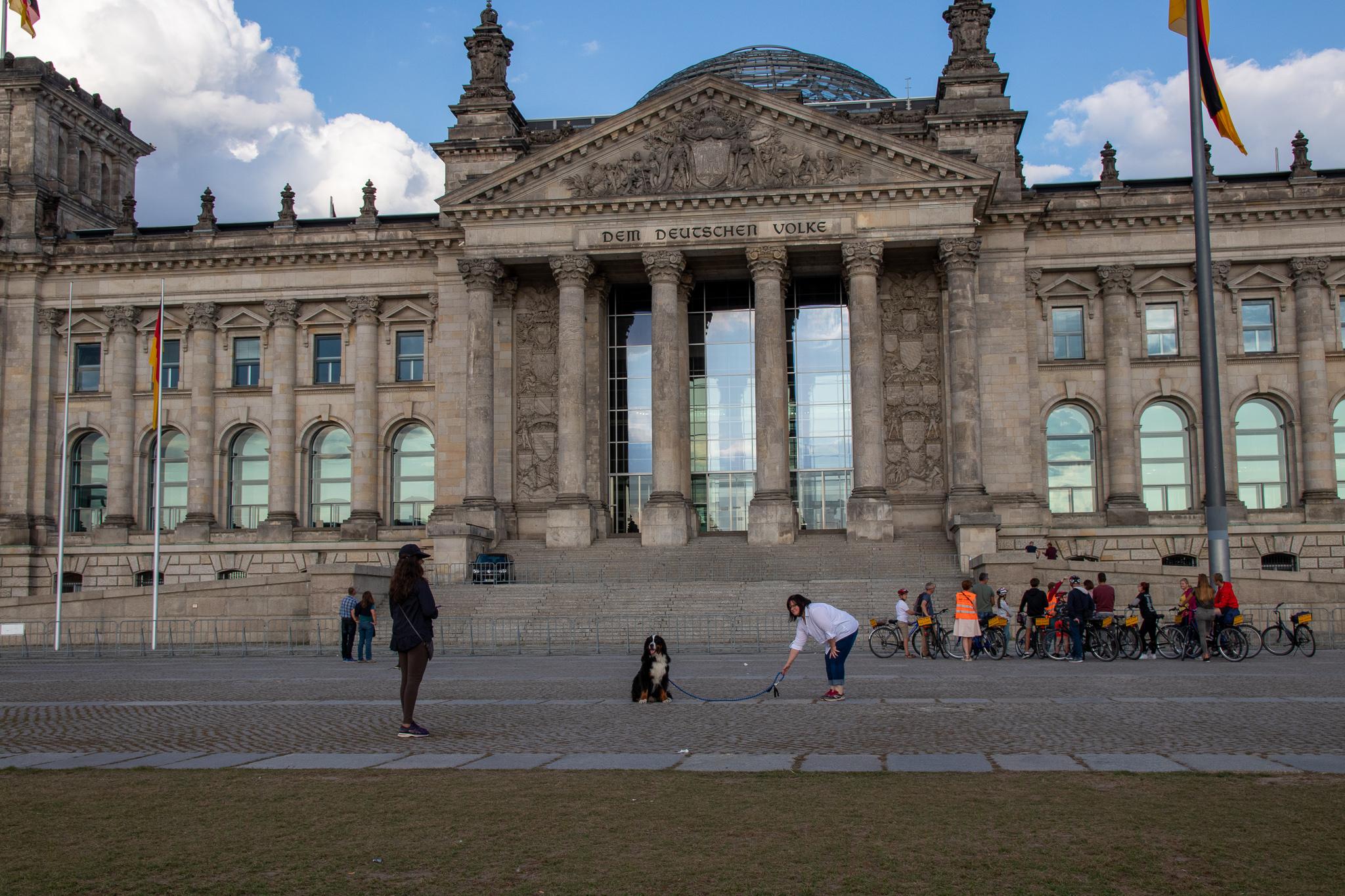 Reichstag Angela ist nicht da