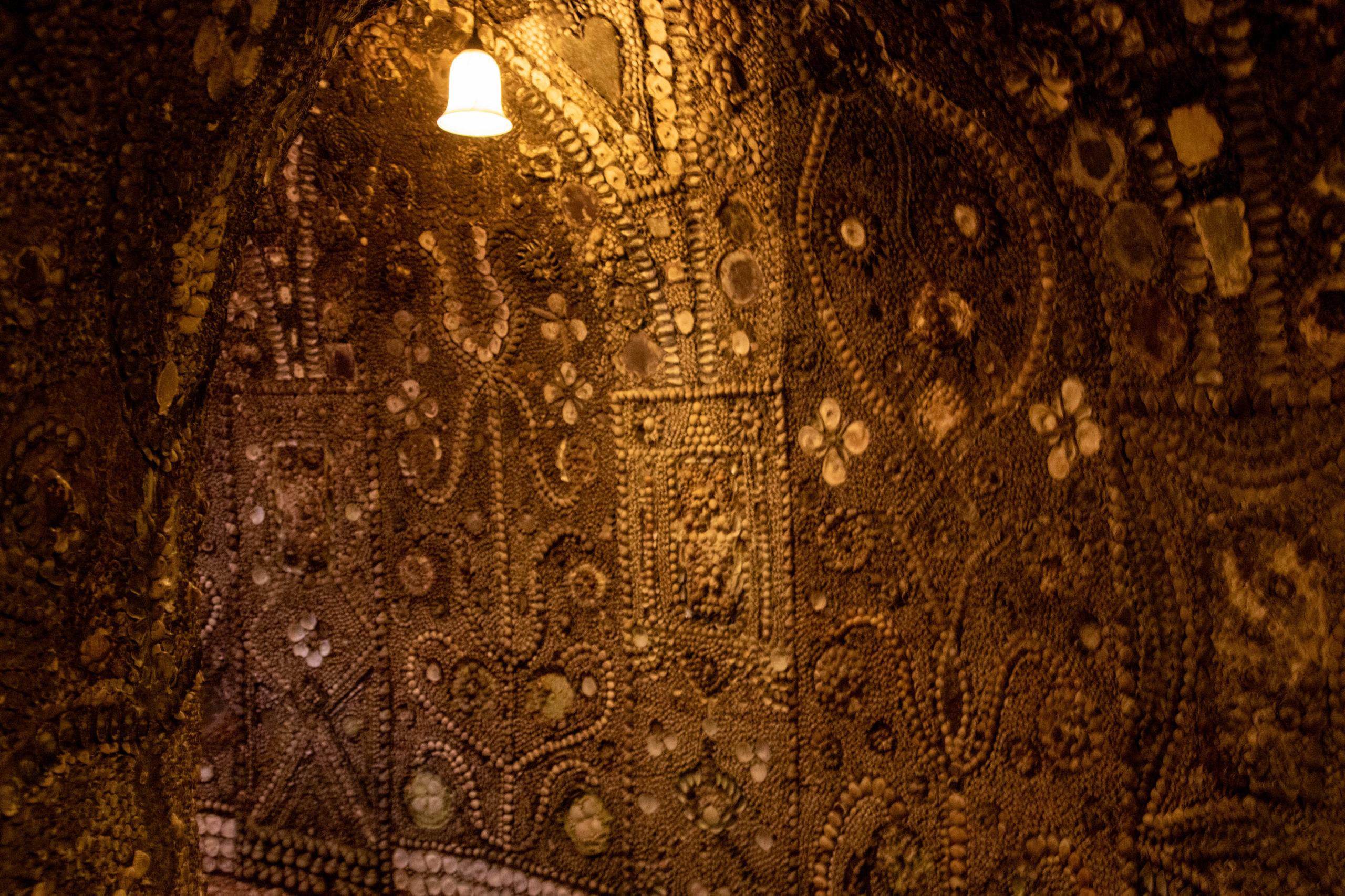 Die Mosaike der Shell Grotto