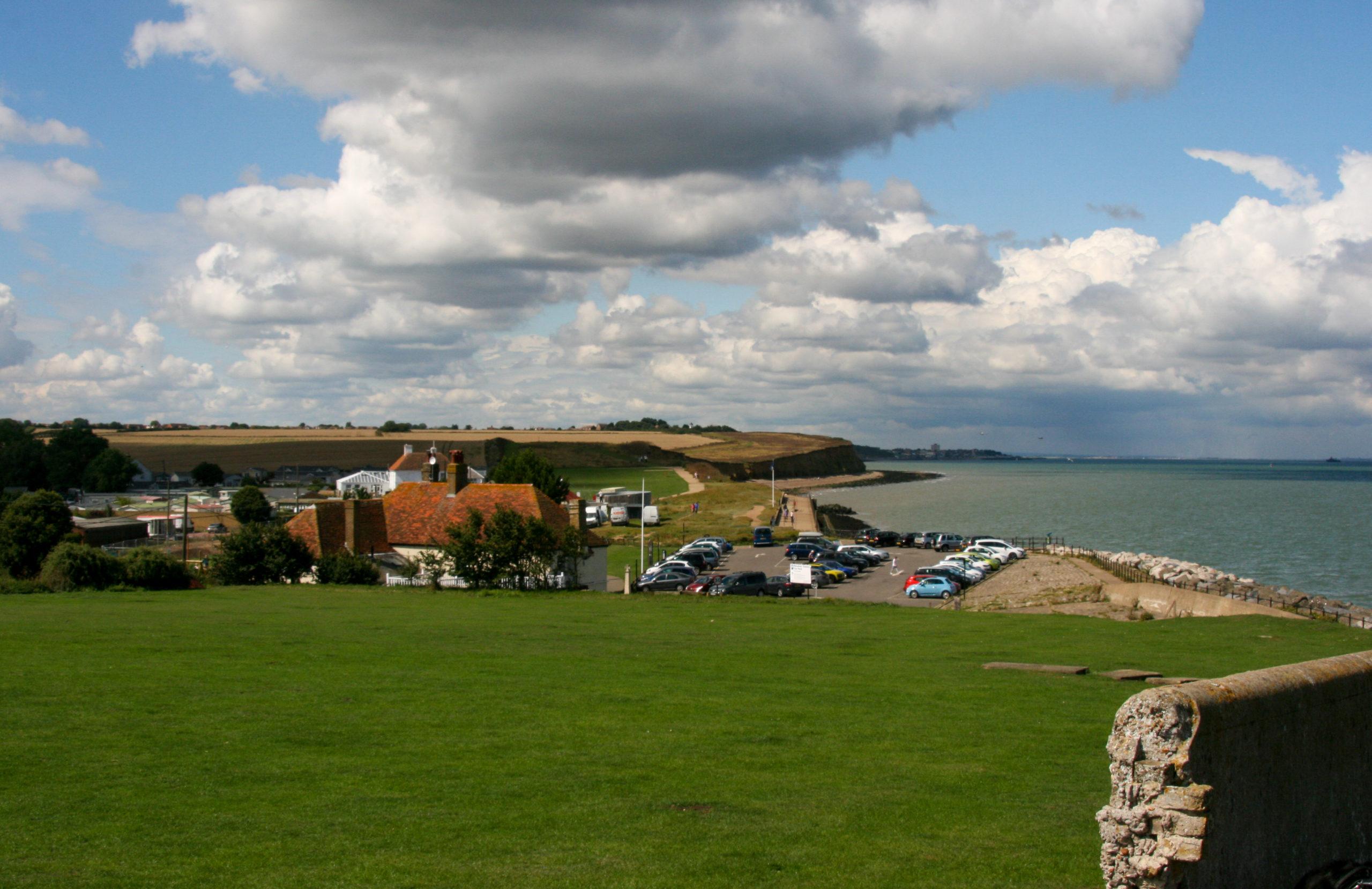 Blick vom Roman Fort