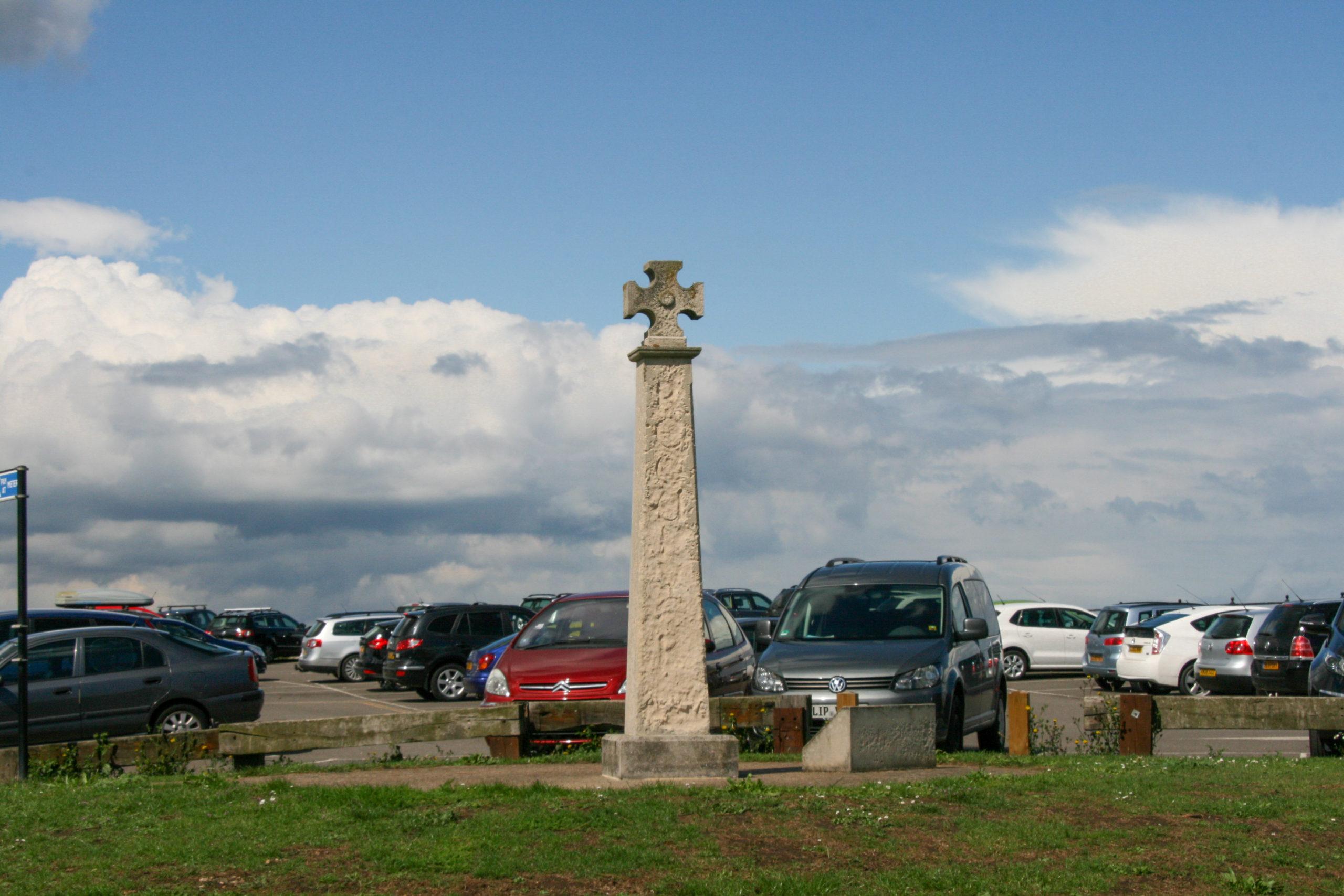 Reculver Parkplatz