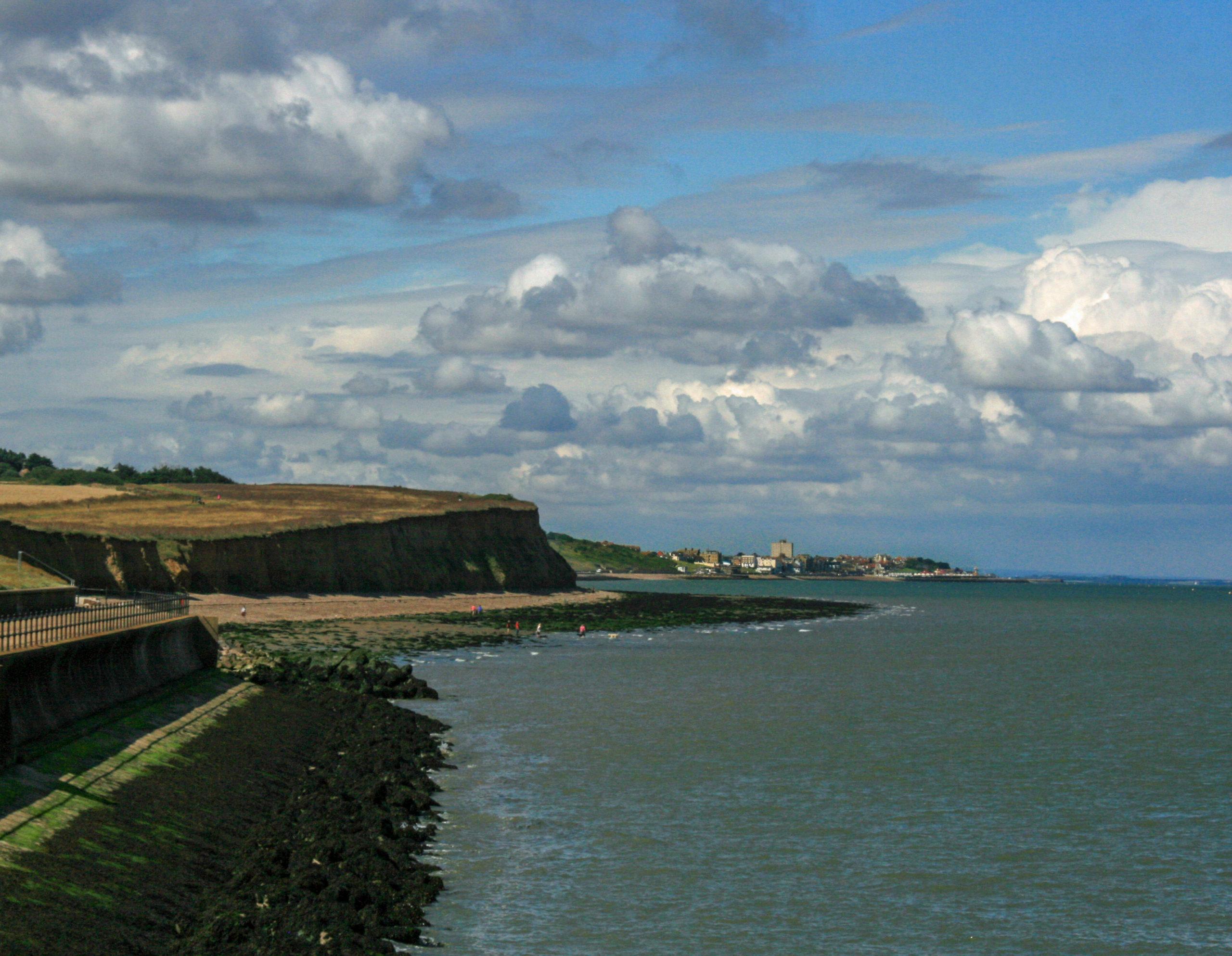Reculver nach Herne Bay